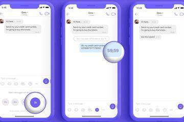 Viber cho tùy chỉnh thời gian tự động biến mất tin nhắn trong trò chuyện nhóm