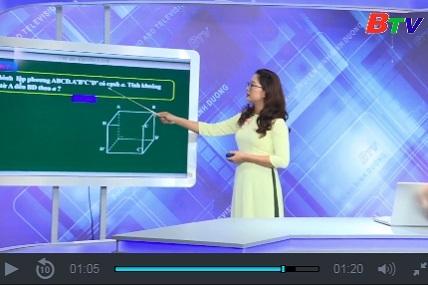 Hướng dẫn học trên truyền hình Bình Dương trực tuyến