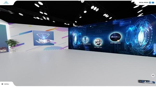 CMC tham dự triển lãm trực tuyến ITU Virtual Digital World 2021