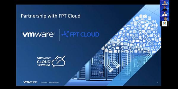 FPT Smart Cloud và VMware thảo luận cách thức chuyển đổi hạ tầng cùng 300 lãnh đạo doanh nghiệp Việt