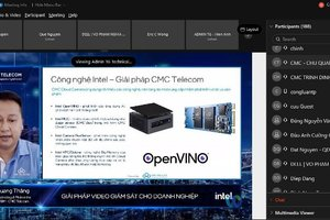 """CMC Telecom """"trình làng"""" CMC Cloud Camera hiện đại trên nền tảng công nghệ Intel"""