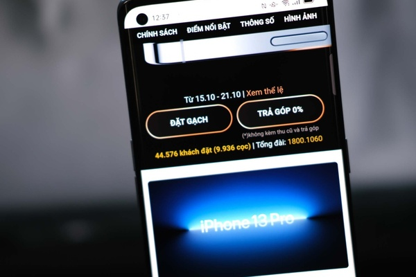 iPhone 13 cháy hàng ngay khi Apple mở đặt cọc tại Việt Nam