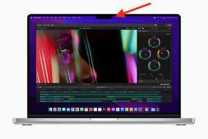 Người dùng chê 'tai thỏ' trên MacBook Pro 2021