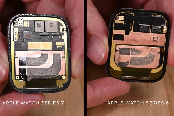'Mổ bụng' Apple Watch Series 7
