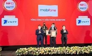 MobiFone vào Top 10 công ty công nghệ uy tín 2021